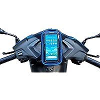 JETLIFE Universal Mobile Holder / Pouch-Bag for Scooters Scooty's Activa Jupiter EV   New Improved 2-in-1 Design…
