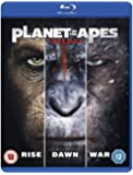Planet of the Apes Triple [Blu-ray] [2017]