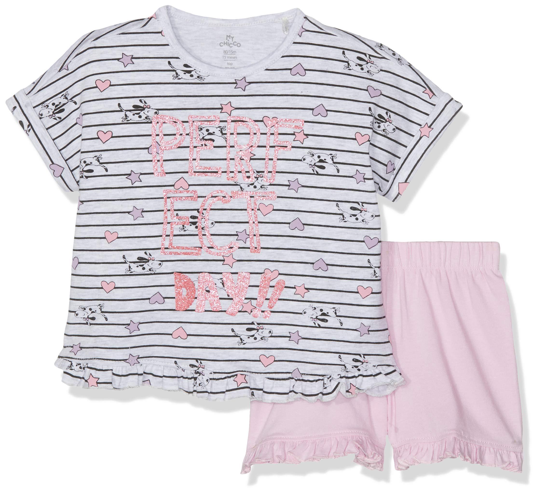 Chicco Pigiama Manica Corta Pijama para Bebés 1