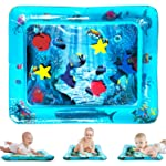 ToyerBee Tummy Time Water Mat, Baby Toys, Water Play Mat for 3&6&9&12&18 Months Baby&Toddler&Newborn&Infant, Sensory...