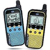 VTech - KidiTalkie, Talkie-Walkie enfants, jouet électronique éducatif – Version FR