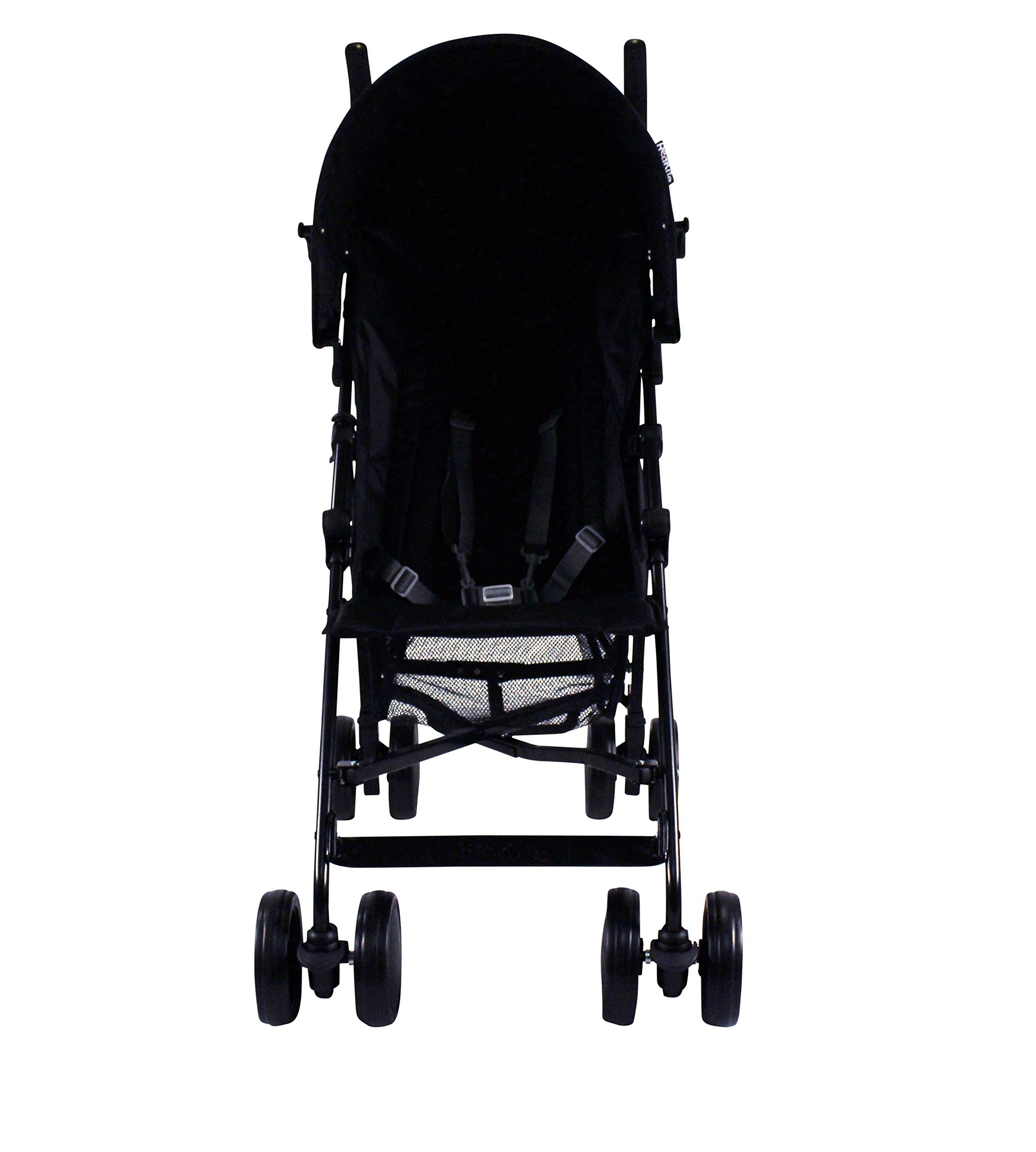 Red Kite Baby Push Me 2U (Midnight) Red Kite Baby Suitable from 6 months Includes shopping basket and raincover Lockable front swivel wheels. Detachable hood 2
