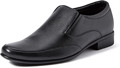 Extacy By Red Chief EXT116 Men's Black Formal Leather Shoes