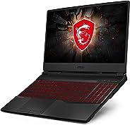 MSI 15.6 inç Dizüstü Bilgisayar, Intel Core i7, 512 SSD, 16 GB RAM, NVIDIA GeForce RTX 2060, İşletim Sistemi Yok