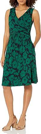 Essentials Robe Crois/ée sans Manches Dresses Femme