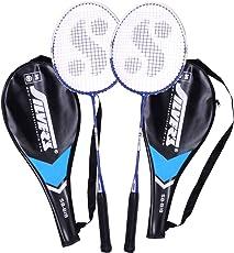 Silver's Sb-818 Badminton Racquet, 2 pieces with cover