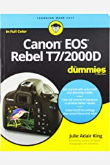 Canon EOS Rebel T7/2000D For Dummies (For Dummies (Computer/Tech)) Paperback