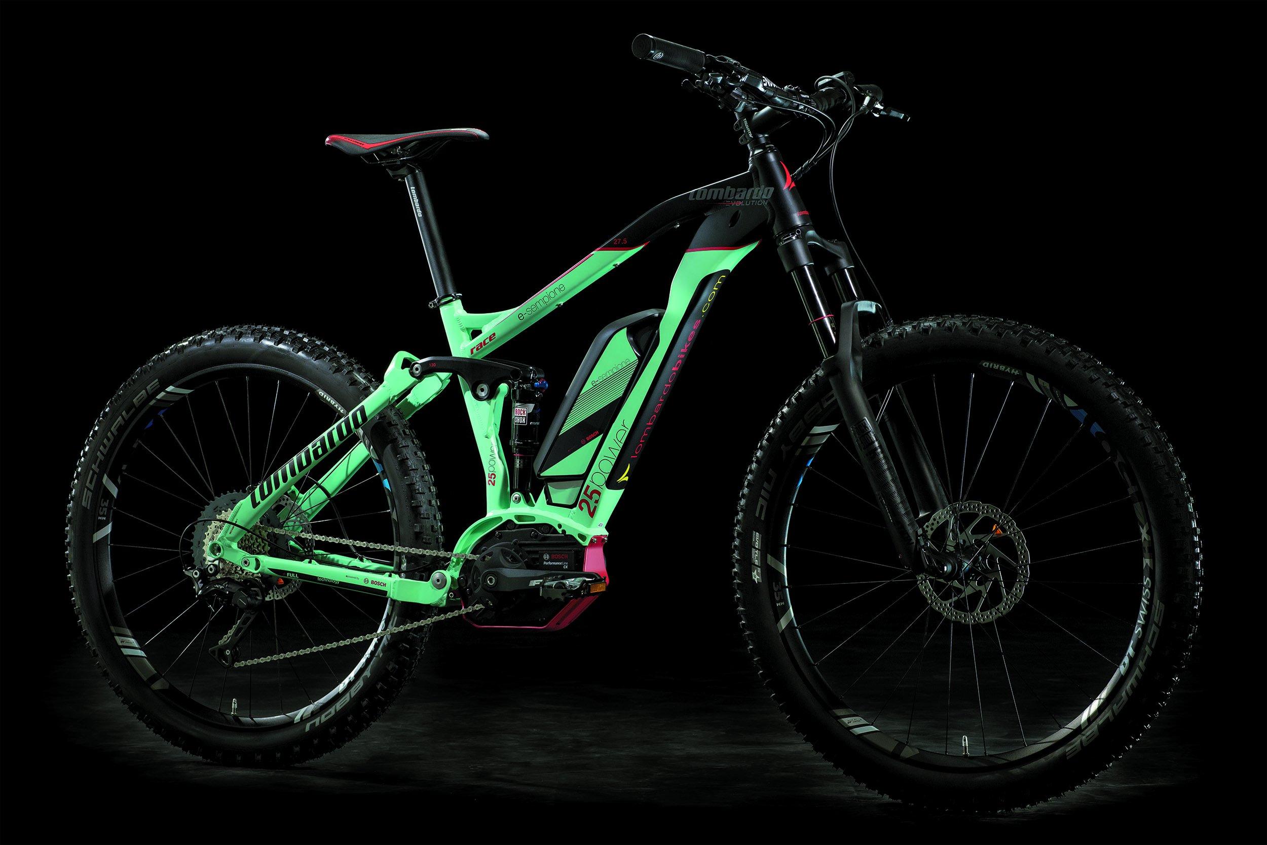 205d5f9517b Lombardo Sempione biammortizzata Race All Mountain 27.5 Full Suspension 2018  – Size 16 - Best Electric Cycle Bikes