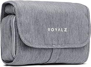 Beauty case ROYALZ con gancio da donna, uomo e bambino - per viaggi ed escursioni come Porta trucchi Trousse Borsa da bagno - 100% poliestere impermeabile