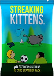 Streaking Kittens: The Second Expansion of Exploding Kittens