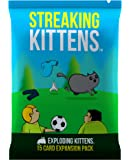 Exploding Kittens Streaking Kittens: This is The Second Expansion of