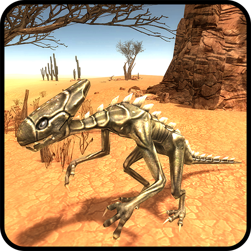 Raptor Dino Simulation 3D
