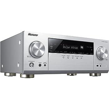Pioneer VSX-933(S) 7 2 Channel AV Receiver (Hifi Amplifier 135  Watt/Channel, Multiroom, Wifi, Bluetooth, Streaming, Dolby Surround Dolby  Atmos-DTS:X,