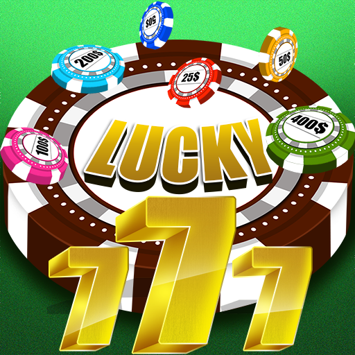 Lucky 777 : Vegas Casino Brain Puzzle Winner - Gold
