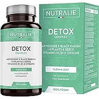 Detox Puissant pour le Foie et Colon   Plan Detox Végétalien pour Perte de Poids   Cleanser pour Éliminer Toxines avec…