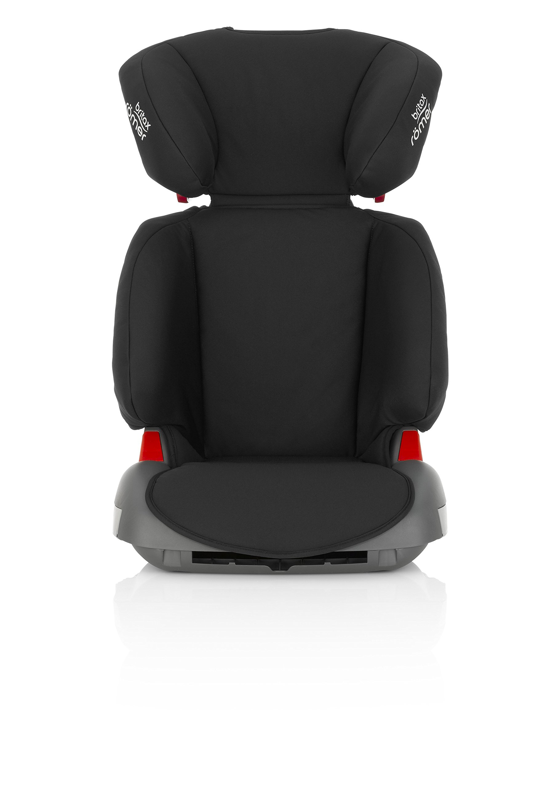 Britax Römer ADVENTURE Group 2-3 (15-36kg) Car Seat - Cosmos Black Britax Römer Intuitively positioned seat belt guides for straightforward installation every time. Machine washable seat cover that can easily be removed, so you can clean up quick and get on your way Reassurance of highback booster safety with side impact protection Lightweight, easily transferable shell 2
