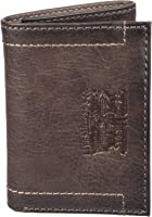 Levis 2019 Mens Wallet, Card Case & Money Organizer, Brown, 14 31LV110028