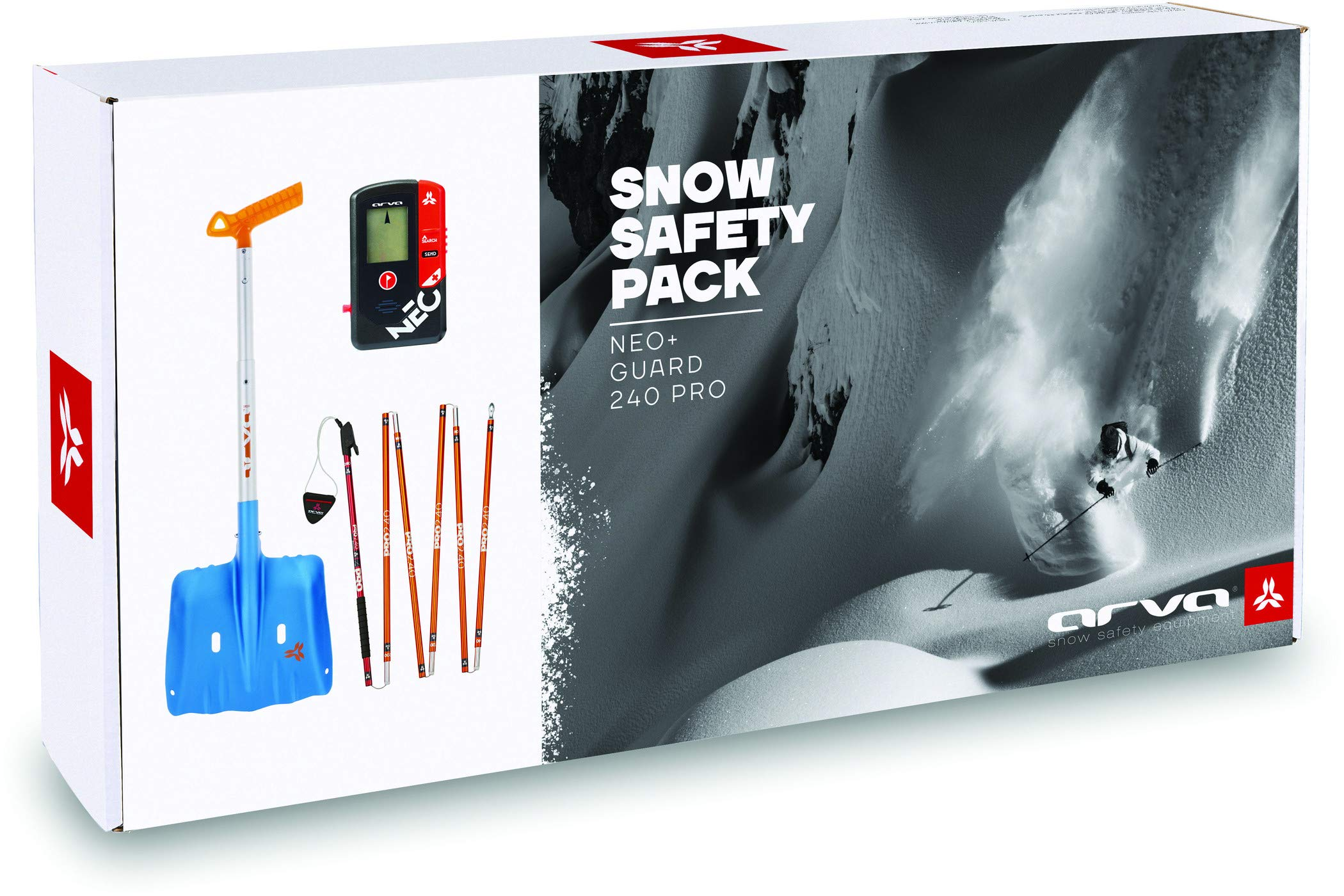 Arva Pack Safety Box Neo+ – Pack sécurité (DVA, Pelle et sonde)