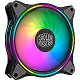 Cooler Master MasterFan MF120 Halo ARGB - Illuminazione RGB Indirizzabili a Doppio Anello, Case ed Eliche Dal Design Ibrido,