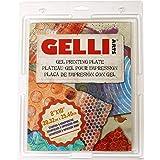 GELLI ARTS Planche 20,3x 25,4cm, Multicolore