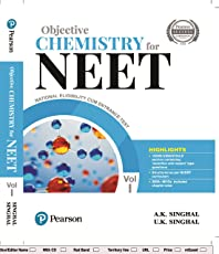 Objective Chemistry for NEET by Pearson - Vol. 1