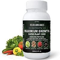 FEROMONES Maximum Growth Liquid Fertilizer - 1000 ML - Super Plant Food for Flowering Plants, Vegetable Plants and…