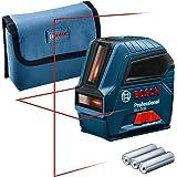 Bosch Professional bouwlaser GLL 2-10 (binnenafwerking, werkbereik: 10 m, 3 batterijen AA)