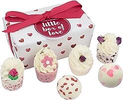 Bomb Cosmetics Little Box of Love Handmade Bath Melts Ballotin Gift Pack