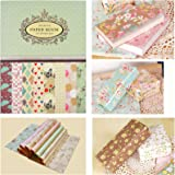 Asian Hobby Crafts Wrapping Paper Book : Size : 225 x 304 mm x 16 Sheets (14-16B)