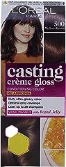 L'Oreal Paris Casting Creme Gloss Hair Color, Medium Brown 500, 21g+24ml