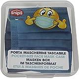 Snips Porta mascherine Tascabile, 11x12,4x1,4