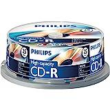 Philips CD-R Rohlinge (800 MB Data/ 90 Minuten, Multi Speed Aufnahme, 25er Spindel)