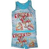 Palleon - Conjunto de ropa interior para niño y niño, camiseta interior + calzoncillos Designs