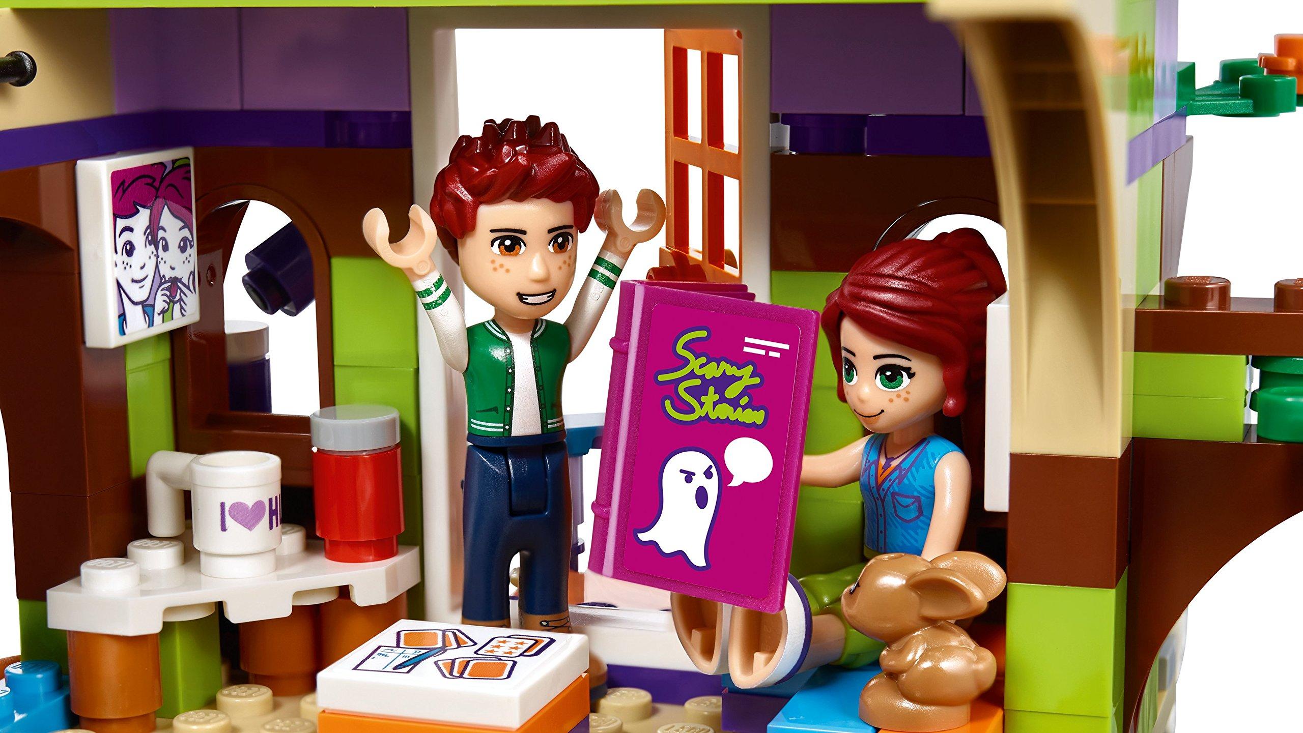 LEGO- Friends La Casa sull'Albero di Mia Set di Costruzioni Ricco di Particolari, con Mini Doll di Mia e Daniel, per… 5 spesavip