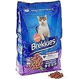 Brekkies Pienso para Gatos Gatos Esterilizados con Pollo y Verduras - 3000 gr
