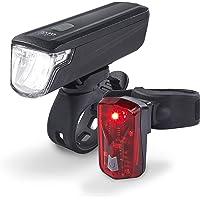 DANSI LED Fahrradleuchtenset, Leuchtstärken