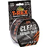 T-Rex 820-48 Clear plakband – transparante, weerbestendige folietape voor onzichtbare reparatie en fixatie – 48 mm x 8,2 m