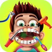 Kleine Zahnarzt für Mädchen und Jungen