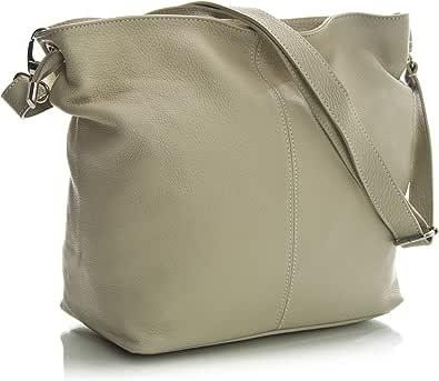 LiaTalia - Adal - Borsa a Spalla vera pelle italiana, borsa di alta qualità realizzata in Toscana, borsa elegante e pratico