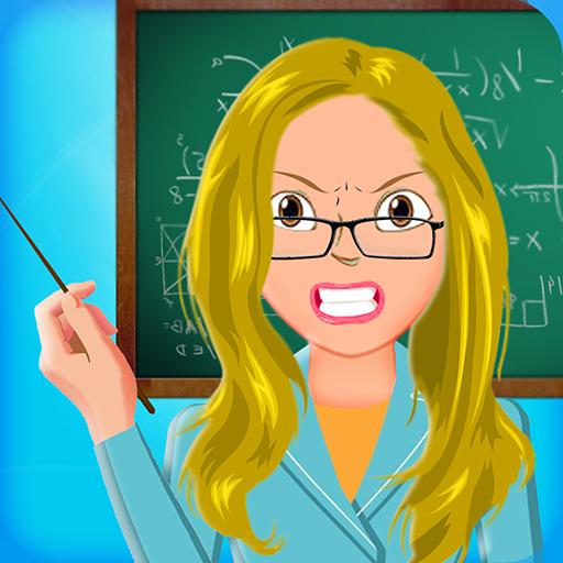 nussiger verrückter Lehrer - verrückter Schulverrücktheit