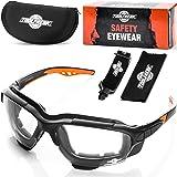 Spoggles di sicurezza Premium by ToolFreak   Combinazione perfetta di occhiali protettivi (Lenti trasparenti)