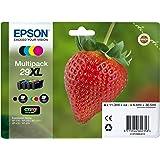 Epson Original T2996 Erdbeere, Claria Home Tinte XL, Text- und Fotodruck (Multipack, 4-farbig) (CYMK)