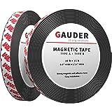 GAUDER A + B Magneetband Sterk Zelfklevend   Voor Vliegengaas en Gordijnen   Magneetstrip