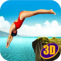 Water Park Games Flip Diving 3D
