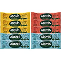 Adonis Low Sugar Nussriegel - Gemischte Box | 100% Natural, Low Carb, Glutenfrei, Vegan, Paleo (10)