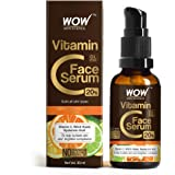 WOW Skin Science Vitamin C Serum - Skin Clearing Serum - Brightening, Anti-Aging Skin Repair, Supercharged Face Serum, Dark C