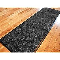 TrendMakers Doormat Dirt Stopper Carpet Runner Door Mats Dirt Trapper | 40cm x 60cm ANTHRACITE | With PVC Rubber Back…