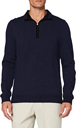 Pierre Cardin Men's Sweat-Shirt Minimal Check Sweatshirt
