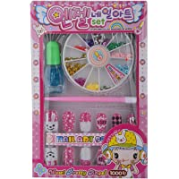 msgh set of 12 nail art sets for girls aging 4-10 yrs.a perfect birthday return gift.- Multi color