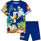 Sonic The Hedgehog Pijama Verano Niño, Pijamas Niños, Conjunto Niño Verano 3-10 Años